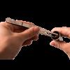 mycusini® Rustfri stål pincetter