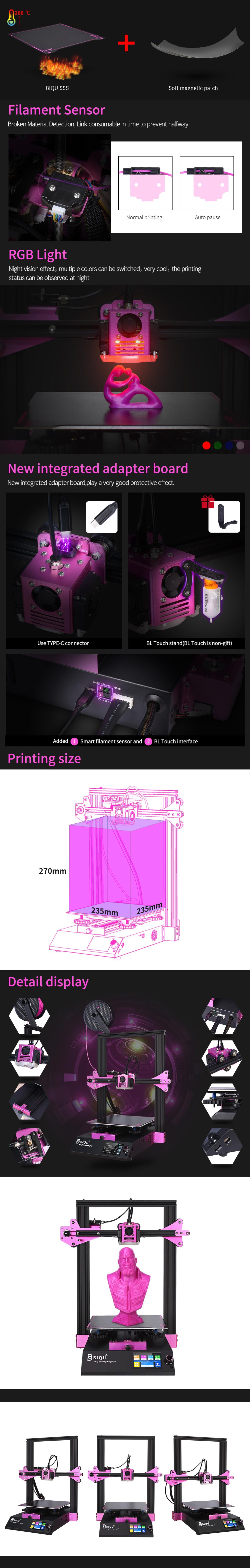 BIQU 3D Printere hos SoluNOiD.dk